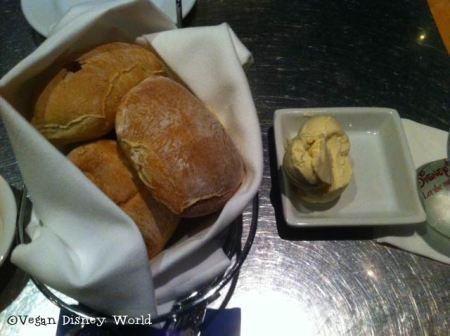 Rolls with Earth Balance Butter