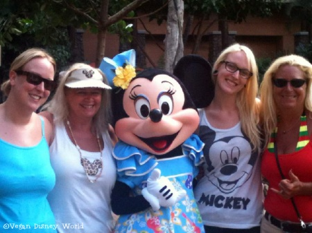 Alex (sister), Nancy (aunt), Minnie, Melissa and Denise(mom)