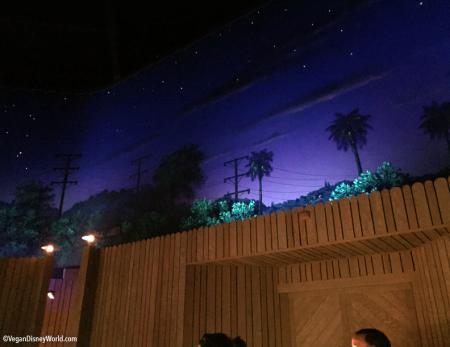 Sci-Fi Dine-In Theatre Atmosphere
