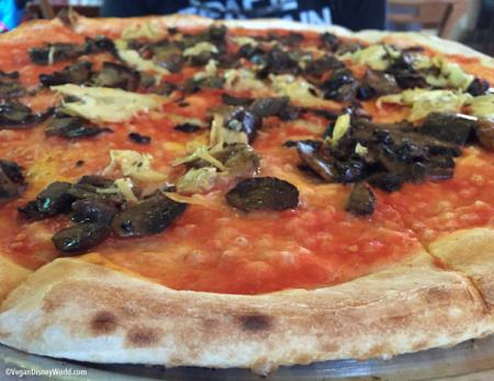 Vegan Capriciossa Pizza,