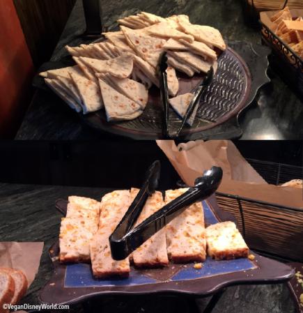 Pita and Corn Bread
