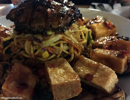 Crispy Tofu and Noodles