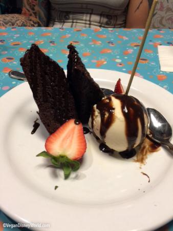 Chef's Special Chocolate Brownie - Allergy Menu