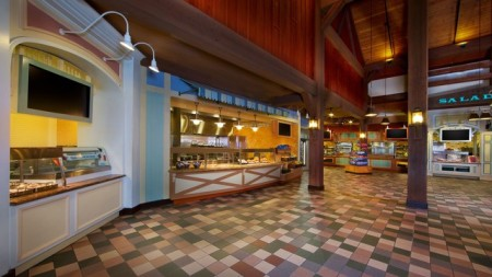 Riverside Mill Food Court - Photo from Disney