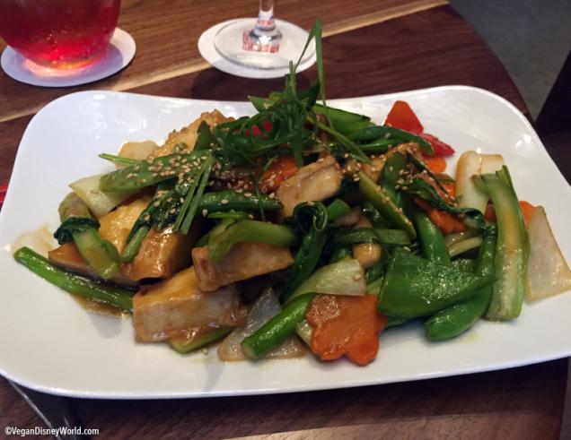 Veggie Tofu Medley