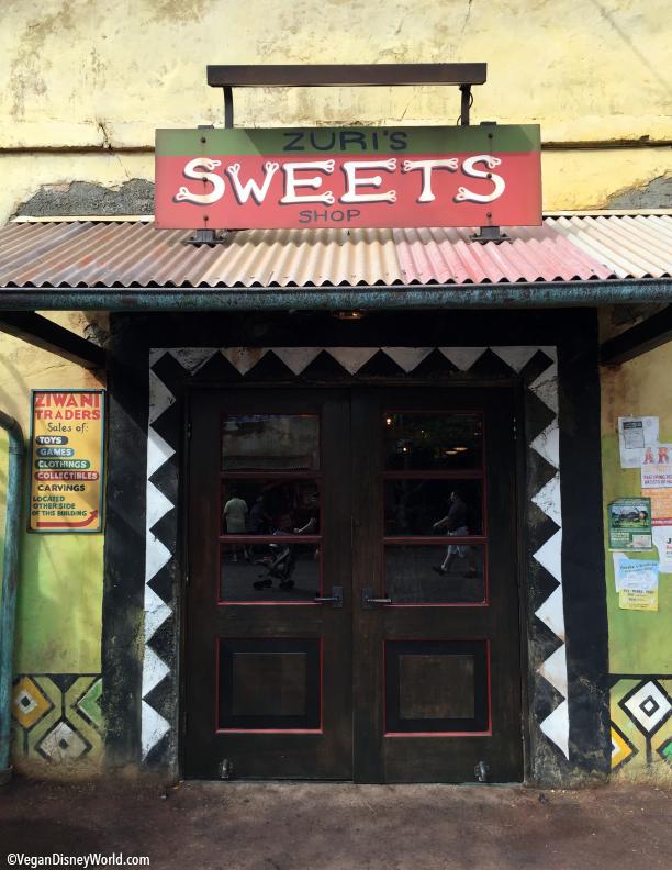 Zuri's Sweets Shop Entrance