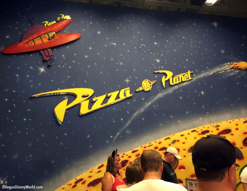 pizza planet getting refurb vegan disney world. Black Bedroom Furniture Sets. Home Design Ideas