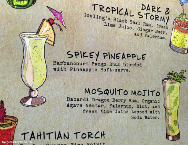 Spikey Pineapple on the Menu