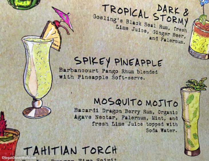 Spikey Pineapple on the Menu