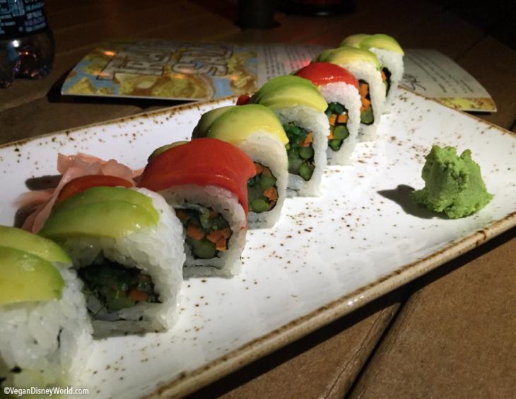 Vegetable Rainbow Roll
