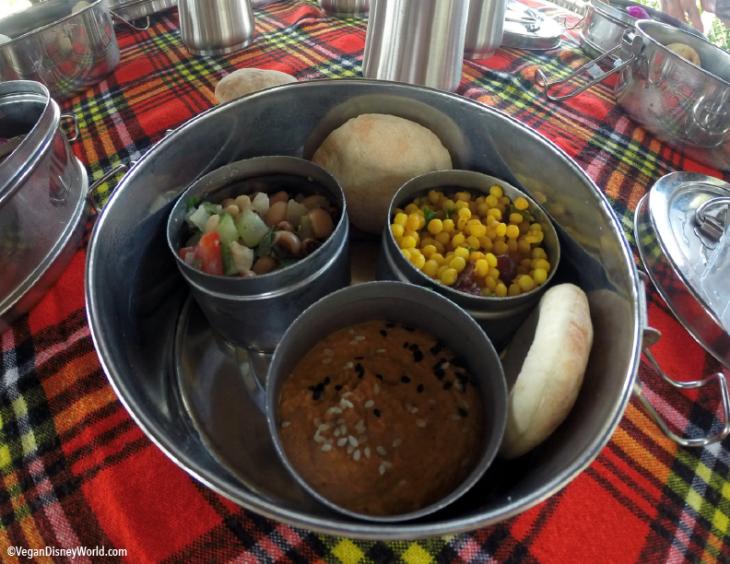 Hummus with Pitas, Couscous, Black Eye Peas