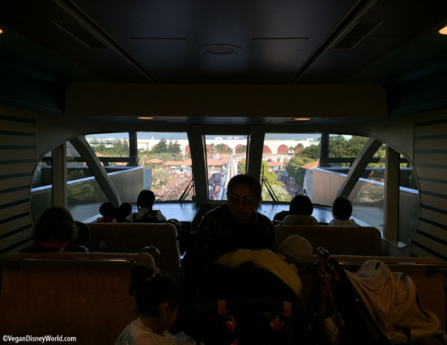 Front of the monorail