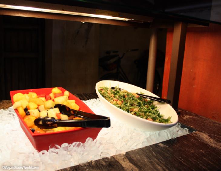 Fruit Salad and Trek Power Salad